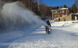 О снегоуборщике своими руками: снегоуборочная машина из триммера и бензопилы