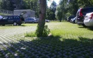 Решетка для парковки на газоне: функциональные возможности, описание