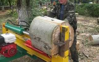 О дровоколах своими руками: самодельный гидравлический и механический