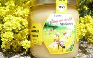 Описание рапсового меда: недостатки и достоинства, свойства и правила хранения